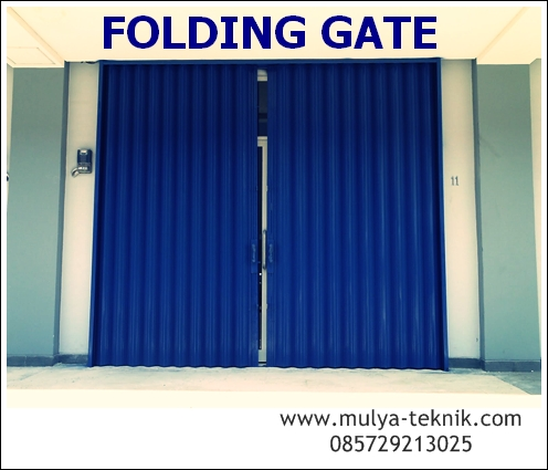 JASA PEMBUATAN FOLDING GATE JOGJA - Bengkel Las Jogja, Pagar, Kanopi ...