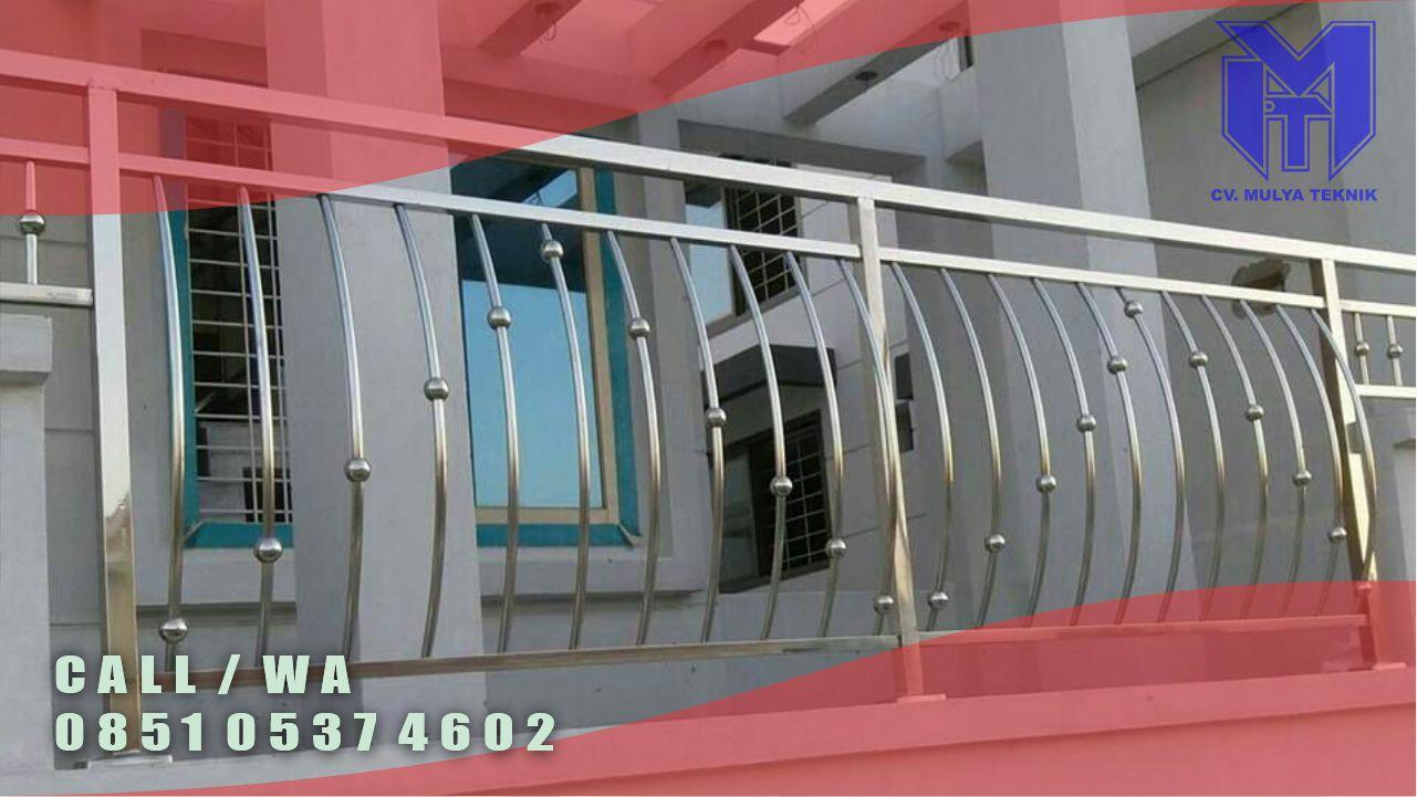 balkon stainless murah sleman