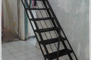 Jasa Pembuatan Tangga Besi Jogja (2)
