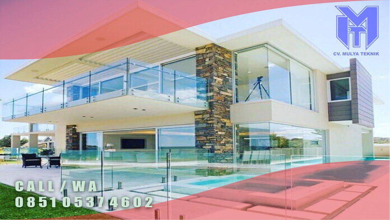 jasa pembuatan balkon kaca sleman
