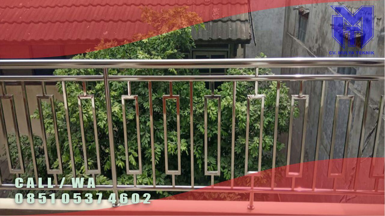 Jasa Pembuatan Balkon Stainless Steel Sleman