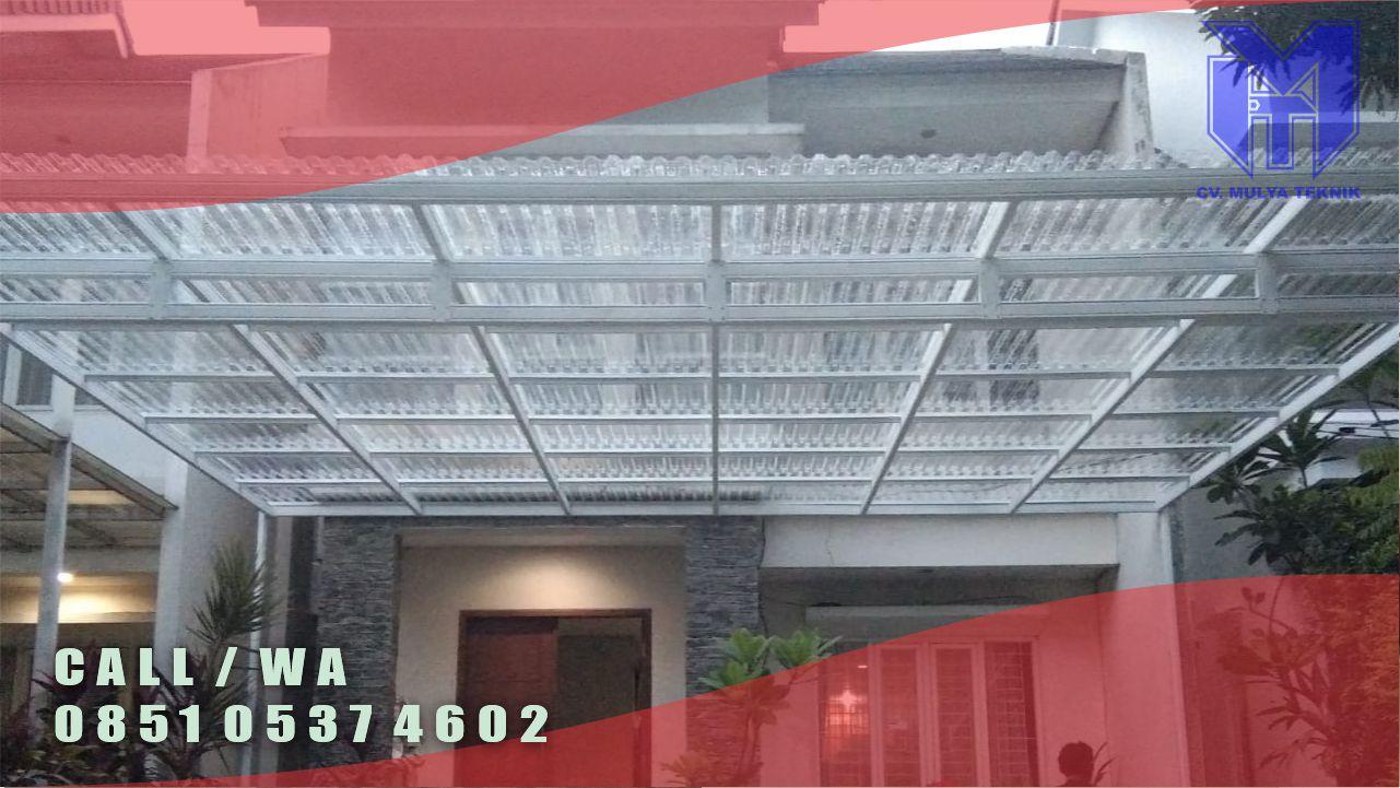 Jasa Pembuatan Kanopi Minimalis Atap Solarfuft Sleman Berkualitas